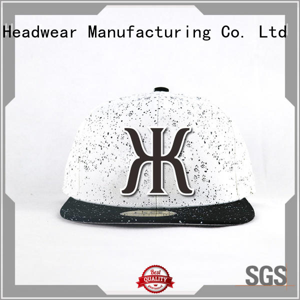 Breathable blue snapback hat chapter bulk production for beauty
