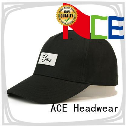 ACE strap embroidered baseball cap customization for baseball fans