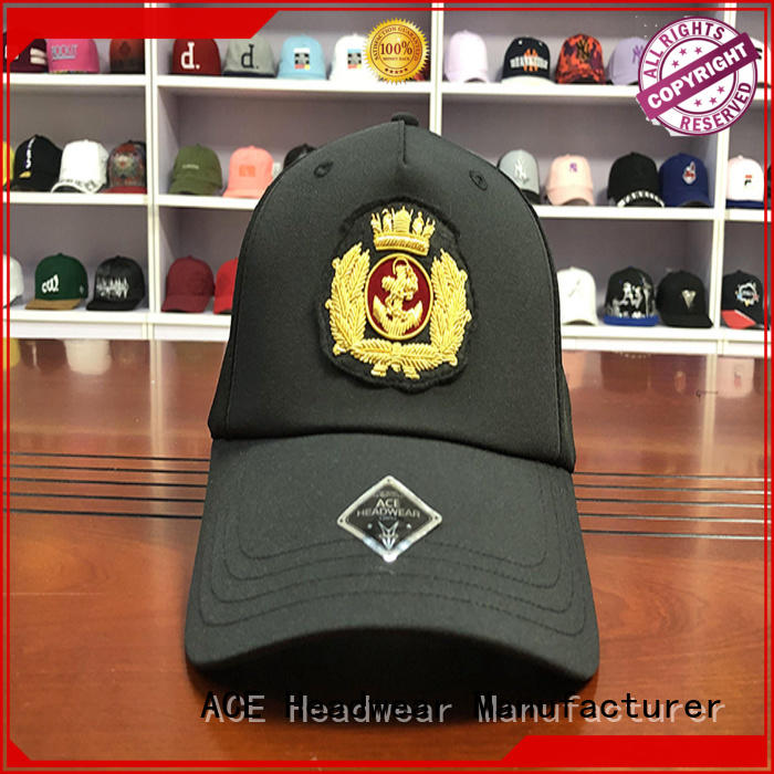 ACE high-quality blank baseball caps buy now for fashion