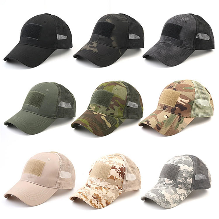solid mesh cool baseball caps proof ODM for beauty-1