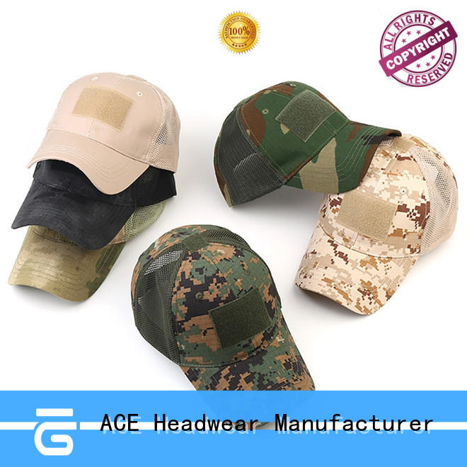 ACE portable red baseball cap supplier for fashion