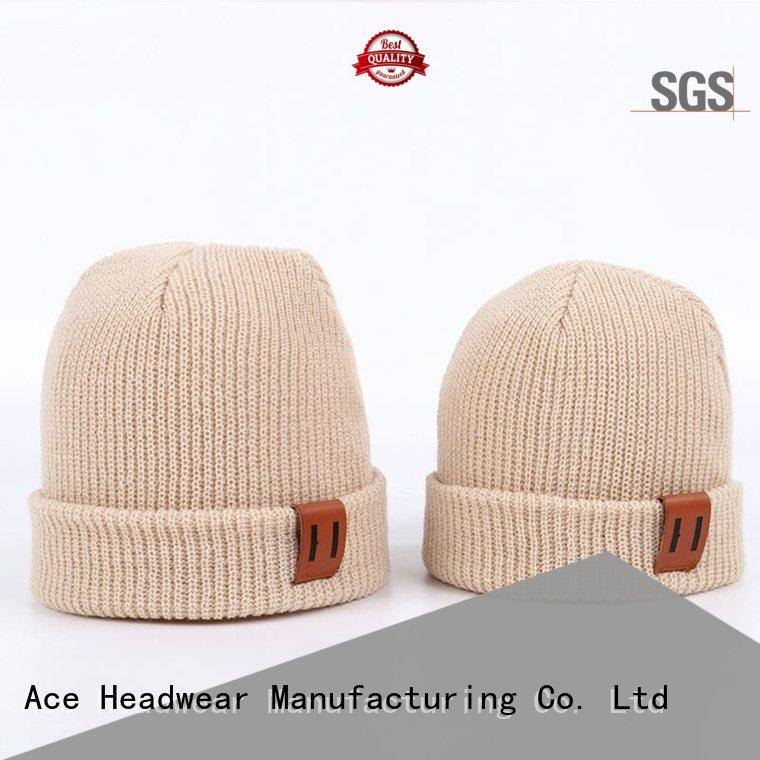 funky grey knit beanie beanies customization for beauty
