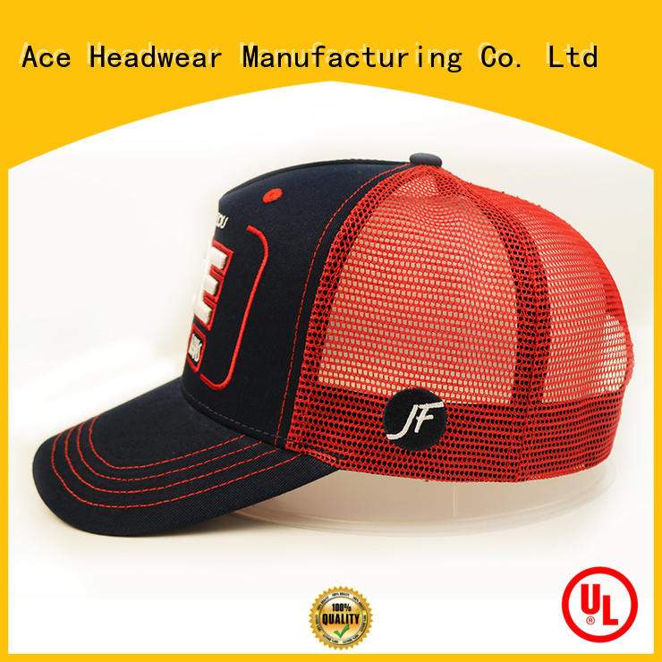 ACE at discount wholesale trucker hats bulk production for fashion
