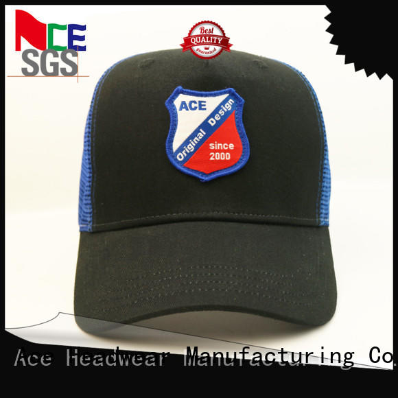 ACE embroidery cycling cap customization for fashion