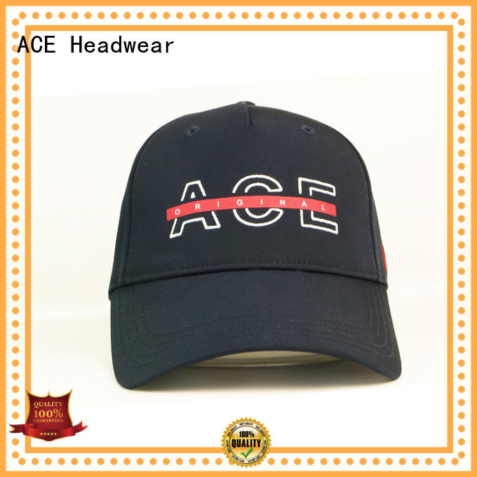 ACE Breathable fitted baseball caps OEM for beauty