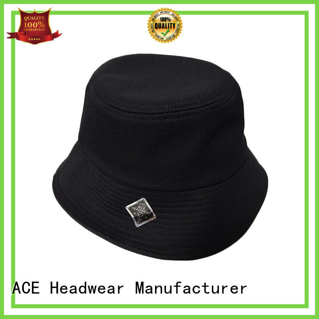 ACE 18sscap02 polo bucket hat ODM for beauty