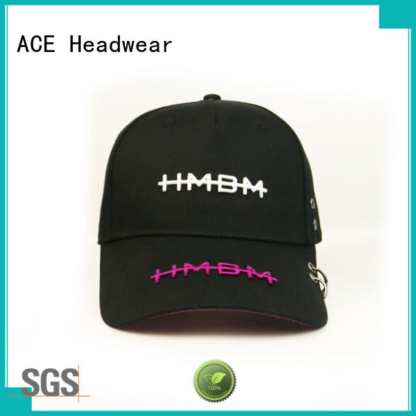 ACE latest snapback hat brands free sample for fashion