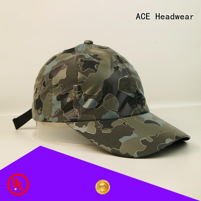 ACE flower sequin baseball cap for wholesale for fashion