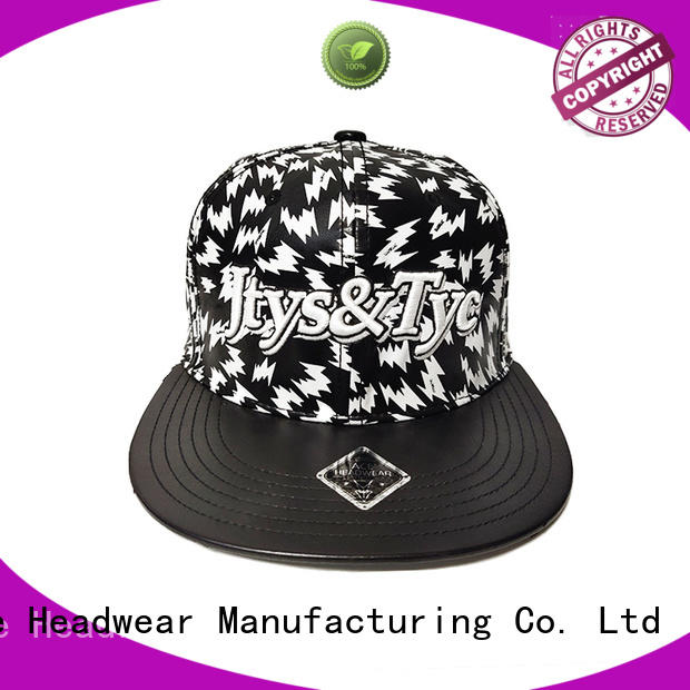 ACE cotton custom snapback caps supplier for fashion