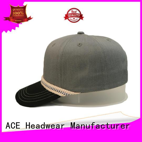 ACE latest baseball cap supplier for fashion