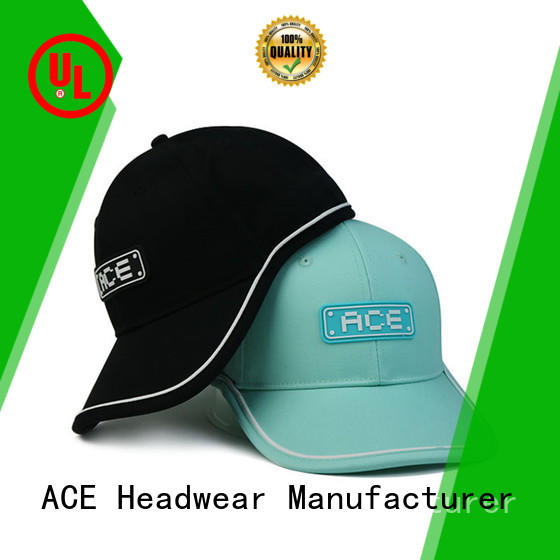ACE solid mesh sequin baseball cap customization for fashion