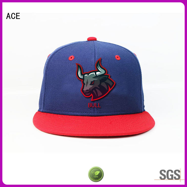 ACE solid mesh best snapback hats customization for beauty