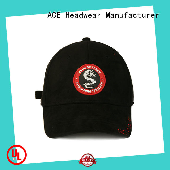 ACE stylish baseball caps for men ODM for fashion