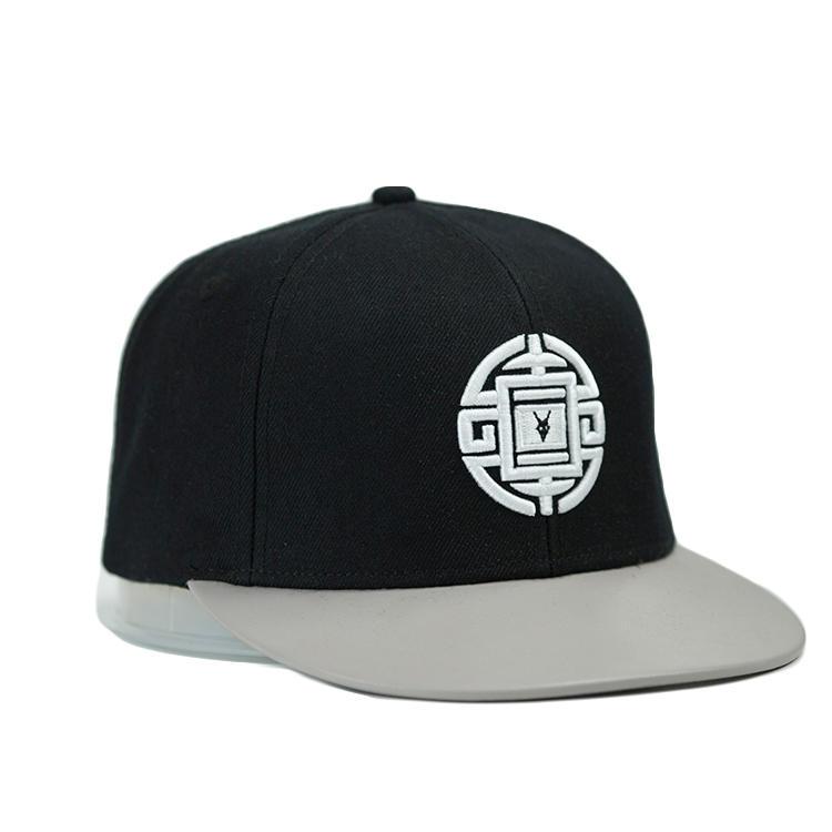ACE grid blue snapback hat customization for fashion-1