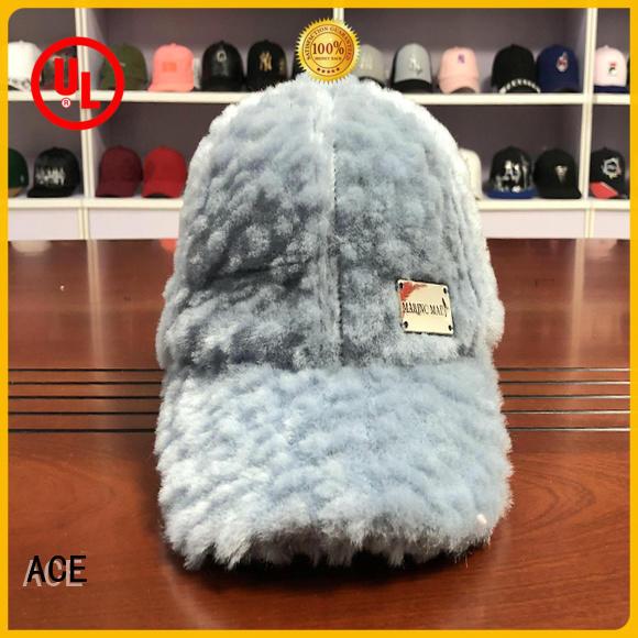 ACE funky wholesale baseball caps bulk production for fashion