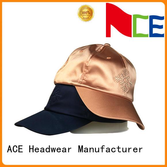 ACE flower baseball cap supplier for beauty