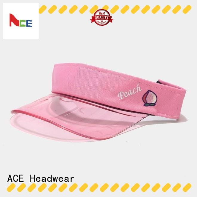 ACE rings womens sun visor hats get quote for fashion