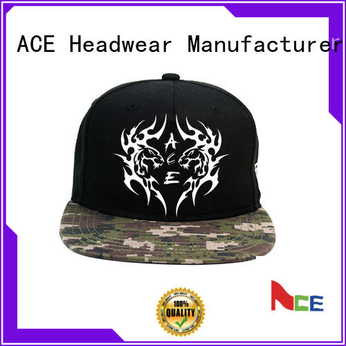 ACE pu bulk snapback hats buy now for beauty