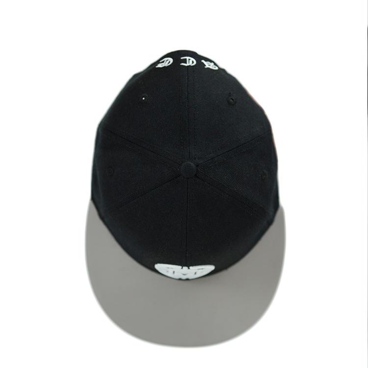 ACE grid blue snapback hat customization for fashion-3