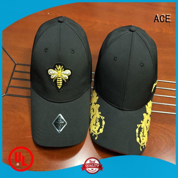 ACE stylish logo baseball cap get quote for fashion