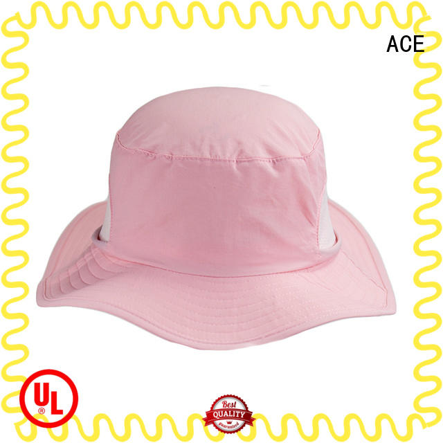 ACE funny white bucket hat supplier for fashion