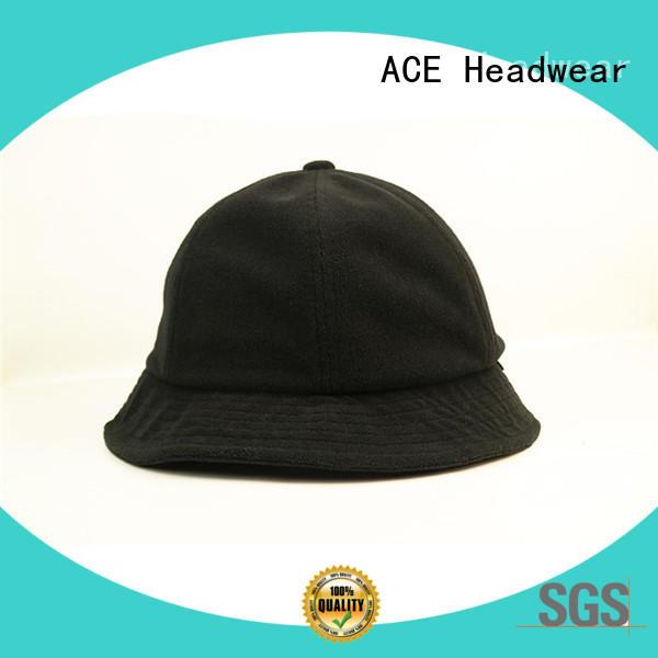 ACE portable custom bucket hats OEM for fashion