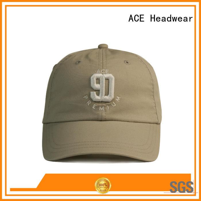 Breathable white baseball cap full free sample for beauty
