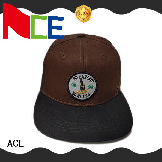 ACE high-quality yellow baseball cap OEM for beauty