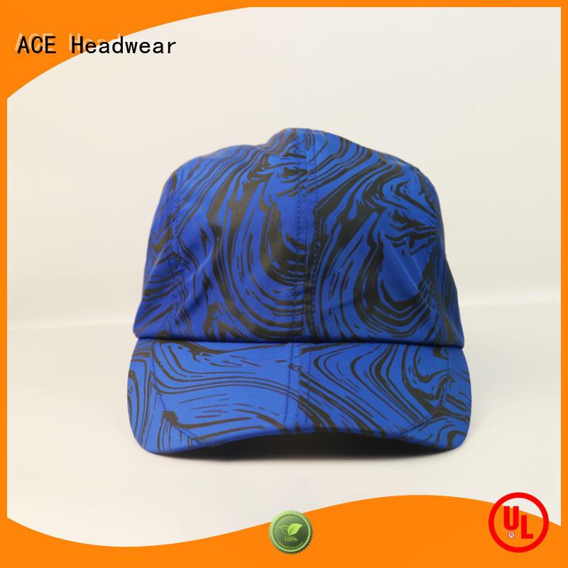 ACE glitter best mens baseball caps bulk production for fashion