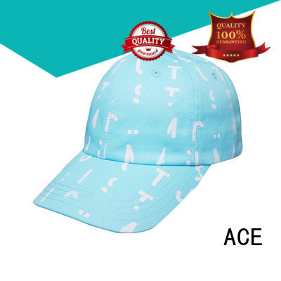 ACE blue green dad hat free sample for fashion