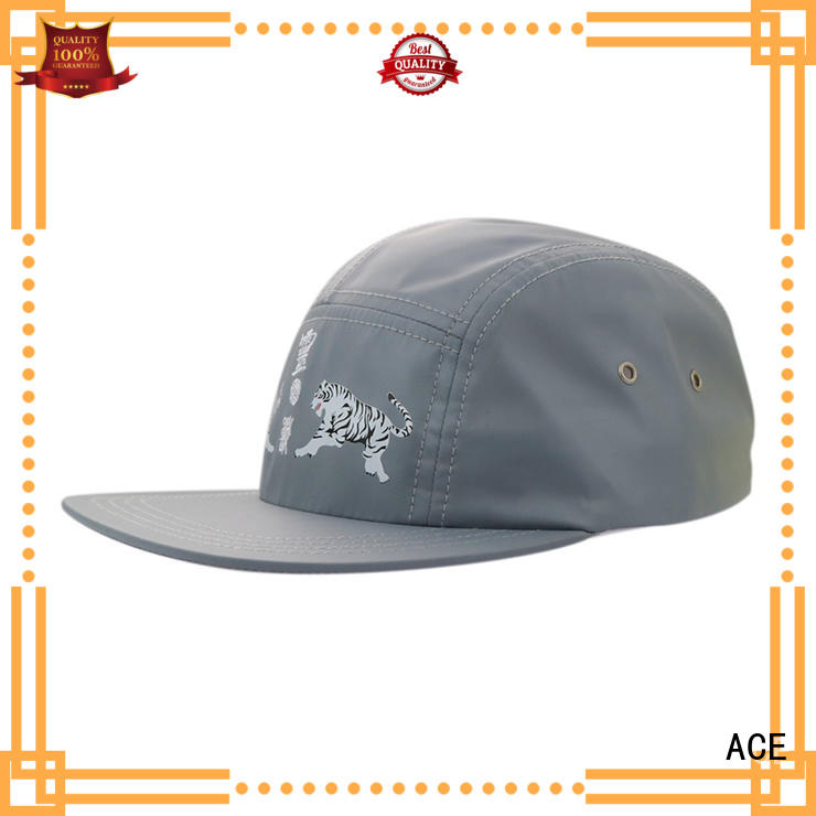 ACE sublimation white snapback cap get quote for beauty