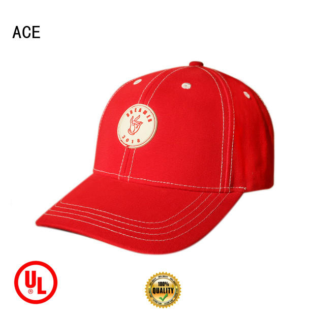 ACE at discount personalized baseball caps OEM for fashion