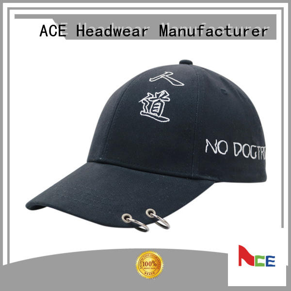 ACE at discount logo baseball cap customization for fashion