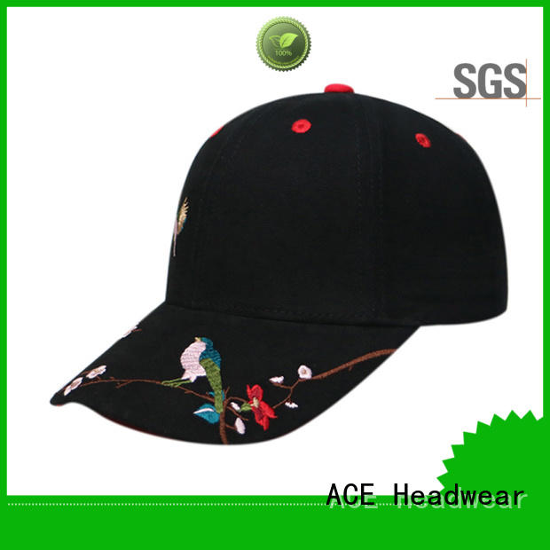 ACE at discount kids baseball caps ODM for baseball fans