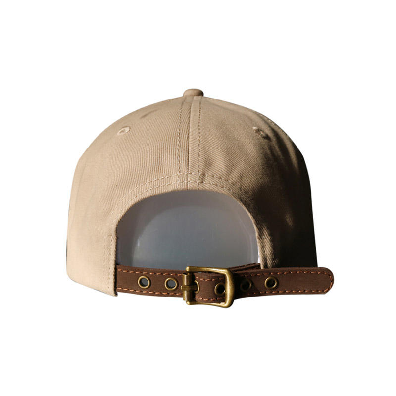 The Embroidery Rabbit Brown Baseball Cap
