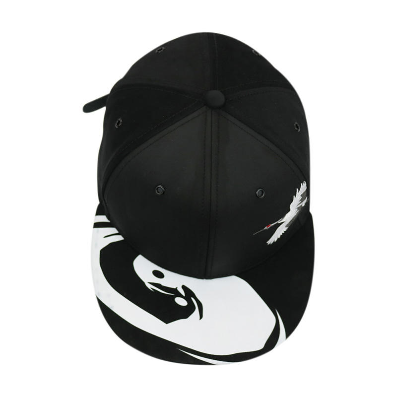 5 Panel Embroidery / Printing Snapback Caps