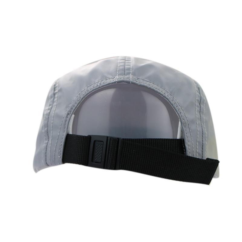 Grey 5 Panel Printing Tiger Snapback Caps