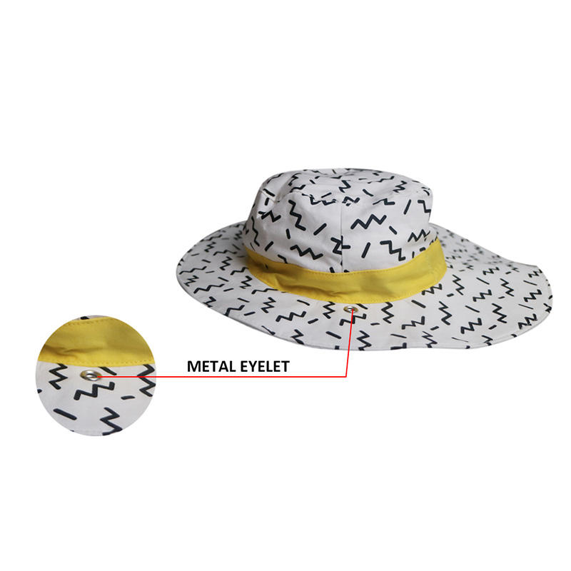 Custom Made Funny Bucket Hats With String