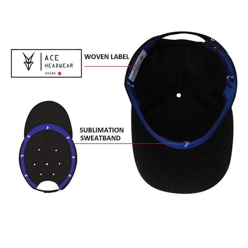 ACE Breathable best baseball caps free sample for baseball fans-4