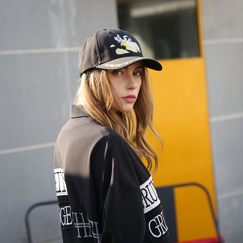 at discount embroidered baseball cap 58cm customization for beauty-2