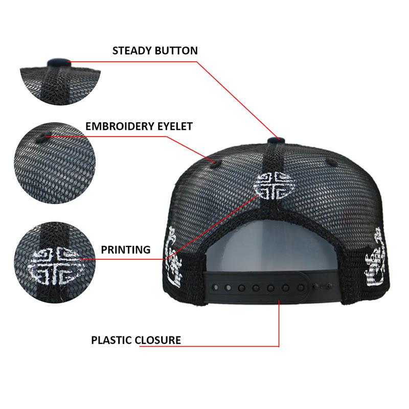 ACE genuine sports cap supplier for Trucker-1
