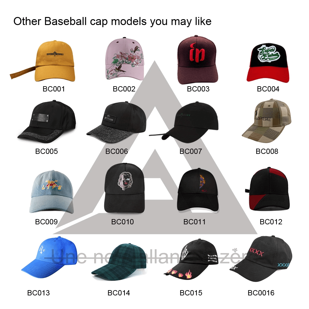 ACE sports black baseball cap mens ODM for fashion-8