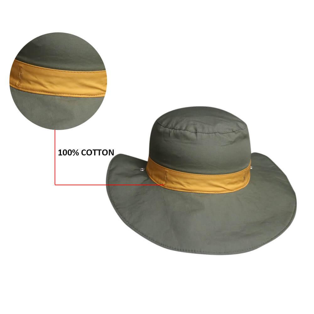 short polo bucket hat ODM for beauty