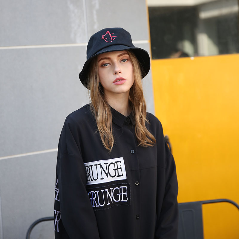 ACE brim red bucket hat supplier for fashion-5