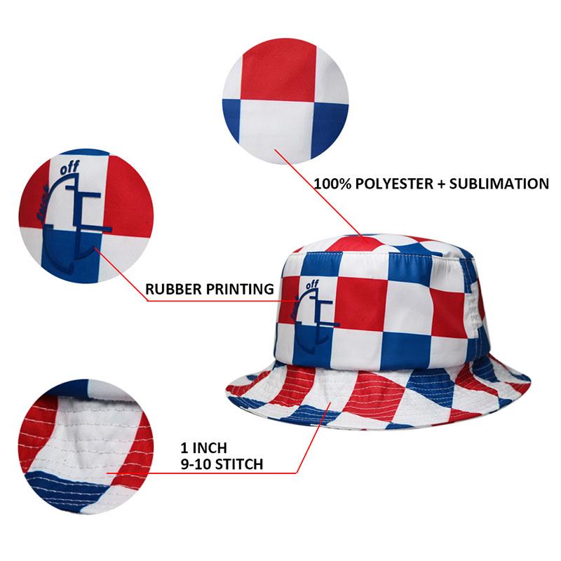 high-quality bucket hat fashion headwear customization for fashion-1