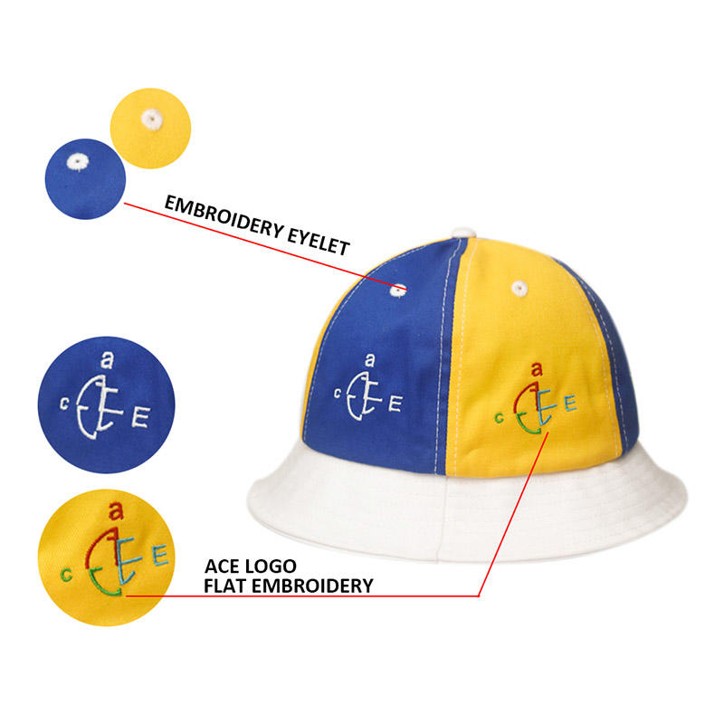cotton bucket hat headwear for fashion ACE