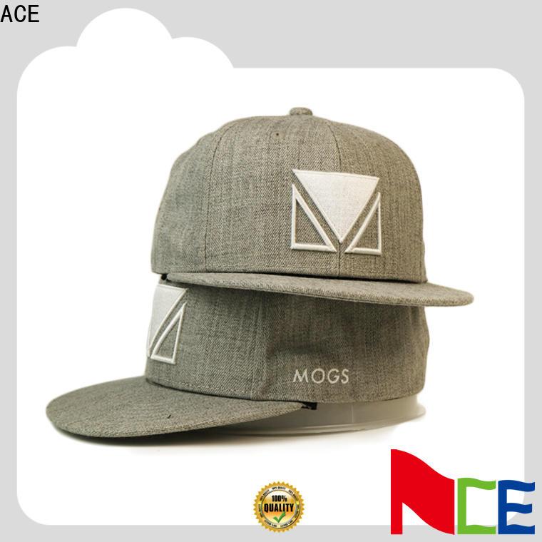 ACE portable custom snapback caps for wholesale for beauty