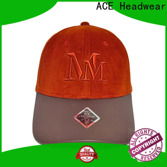 ACE patch womens baseball cap customization for beauty