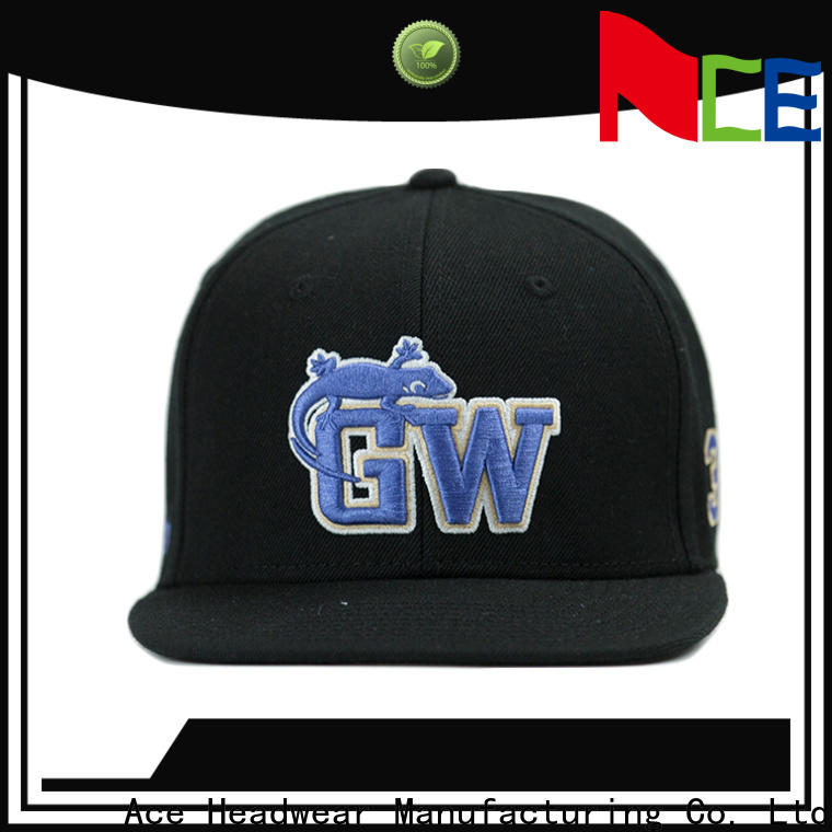 solid mesh black snapback hat tiger for wholesale for beauty