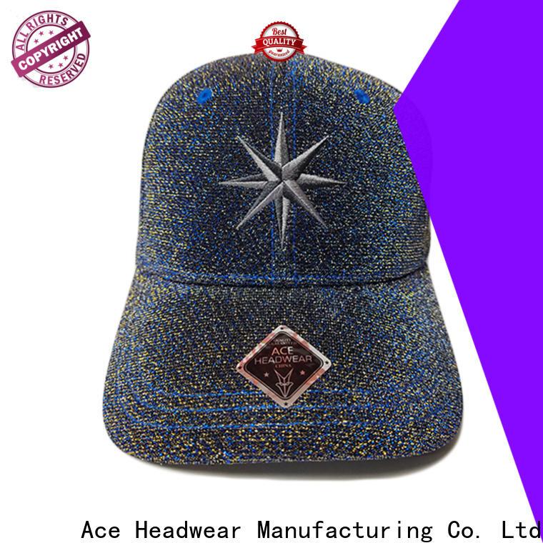 ACE freedom fitted baseball caps bulk production for baseball fans